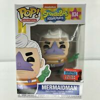 Spongebob Squarepants Mermaidman Funko Pop NYCC 2020 Exclusive (New) In Hand