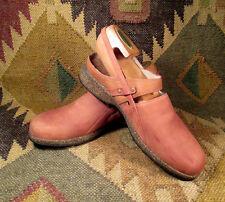 TEVA Ventura Brown Soft Nubuck Sling-back Clog Women's 8 M (38) Style 6934