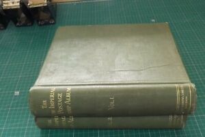 TWO STANLEY GIBBONS NEW IMPERIAL POSTAGE STAMP ALBUMS VOLS 1&2 AS FOUND (ST437)