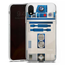 Apple iPhone Xr Silikon Hülle Case - R2D2 Closeup