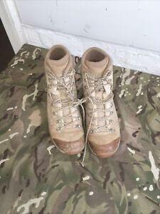 Genuine British Military Lowa Elite Desert Combat Boots - Size 10 UK