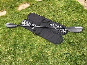 Werner Tybee CF 220cm 2-piece Paddle and Travel Bag