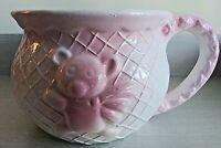 "Vintage ""BABY-GIRL"" 🐻  Rattle  Waffle Mug"