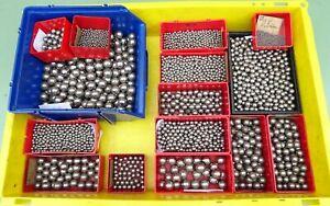 6125 Stahlkugeln Ø 2,5 4,5 6 7 9 10 11 12 13 14 15 17 19 20 mm 25 kg Kugellager