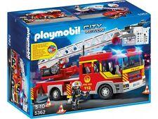 Playmobil 5362 Camion Bomberos con Escalera Luz y Sonido Fire Truck Lights Sound