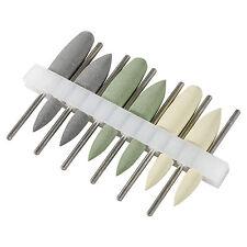 12 * Dental Wolframkarbid Stahl Burs Cutters Formen Tipps Marathon Polierer HP-4