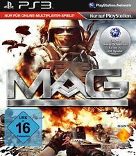 MAG: Massive Action Game (Sony PlayStation 3, 2010)