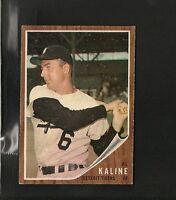 1962 Topps # 150 Al Kaline Ex-Mt