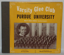 Varsity Glee Club of Purdue University 78rpm 3 Record Album Set VGC+/VGC+