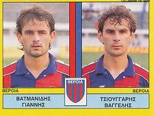 N°395 PLAYERS VERIA FC GREECE PANINI GREEK LEAGUE FOOT 95 STICKER 1995