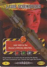 """Doctor Who Battles In Time Invader - Rare """"Laser Screwdriver"""" Card #469"""