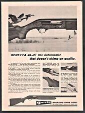 1970 BERETTA AL-2 Autoloader SHOTGUN Garcia Sporting Arms AD