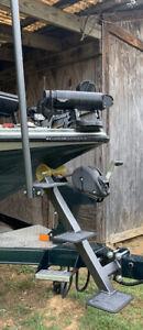 universal bass boat trailer steps