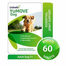 More details for adult dogs hip joint health supplement lintbells yumove stiff & older 60 tablets