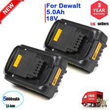 2X 5.0Ah 18V XR Li-Ion Lithium Battery For DeWalt DCB184 DCB182 DCF885 DCB180 UK