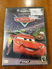 Cars (Nintendo GameCube, 2006) GOOD W/MANUAL! NO SCRATCHES, WATERDMAGE COVER