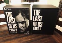 The Last Of Us Part II 2 Collector's Edition Box and Inserts ONLY (NO GAME)