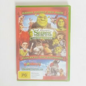 Shrek Forever After The Final Chapter Movie DVD Region 4 AUS Free Postage