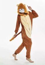 Adult Unisex Animal Lion One Piece Fancy Dress Costume World Book Day