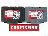 *EMPTY CASE* CRAFTSMAN 10 pc STANDARD OR METRIC 3/8 DRIVE RATCHET SOCKET SET