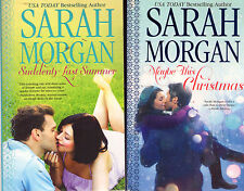 Lot of 3 O'Neil Brothers Trilogy Complete Set Series by Sarah Morgan