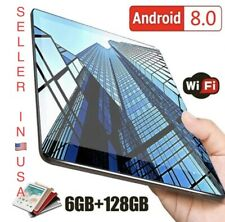 10.1 inch 4G-LTE Tablet- PC 6+128GB Android 8.0 Dual SIM GPS WIFI Tablet
