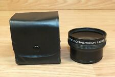 Unbranded Small Black Wide Conversion Lens - x0.7 With Cap **READ**