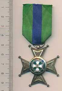 ROMANIA Order MEDAL Romanian FOR MERIT Knight PENTRU MERIT CAROL 2 ultra RARE !