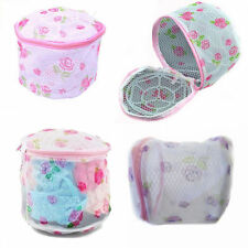female Lingerie Washing Net Bag Laundry Bra Delicate Hosiery Mesh Zipper box MW