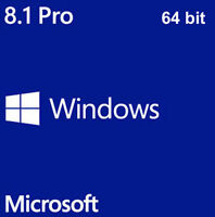 LICENZA MICROSOFT WINDOWS 8.1 PRO PROFESSIONAL 64BIT DVD PRODUCT KEY FULL