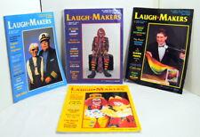 Laugh Makers Magazine '92/'93 Vol11 #1 2 4 5 Clown Puppets Magic Balloons Circus