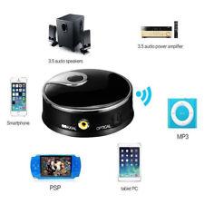 TX12 Transmetteur audio sans fil Adaptateur Bluetooth fibre optique Entrée AUX