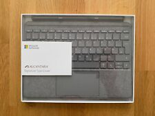 Neues AngebotMICROSOFT Surface Go 2 Signature Alcantara Type Cover Keyboard Tastatur grau