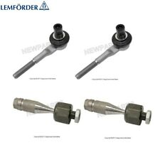 For Audi A8 Quattro S8 Pair Set of 2 Inner & 2 Outer Steering Tie Rod Ends