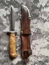 Vintage Finnish Puukko Scout Knife