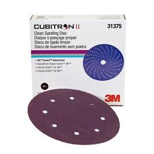 "3M 31375 Cubitron II Hookit Clean Sanding Abrasive Disc 8"", 40, 25 discs per box"