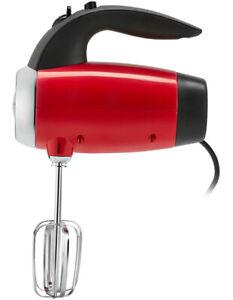 Sunbeam Mixmaster Hand Mixer Toffee Apple Red JM6600R