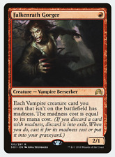 MTG X4: Falkenrath Gorger, Shadows over Innistrad, R, LP - FREE US SHIPPING!