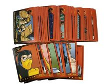 1994 Classic Games Mortal Kombat Cards - Lot Of 100 Trading Cards