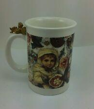 Victorian Girl Christmas Angel Coffee Mug Tea Cup Ornaments Santa