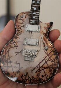 RAMMSTEIN (Richard Z Kruspe) ESP RZK II 1:4 Scale Replica Guitar ~New~