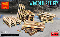 Miniart 35627 - 1/35 - WOODEN PALLETS. Scale model kit UK