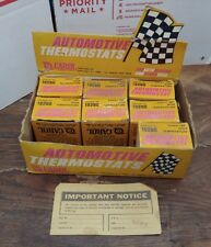 Carol Automotive Thermostat 19280 lot of 7 with Original retail display box