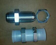 2 New Parker Hannifin Hydraulic Fitting 16-WTX-WLN-S Male Connector Bulk Head