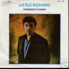 LITTLE RICHARD 45 TOURS GERMANY SOMEBODY'S COMIN'