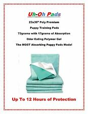 """75ct. Poly-Premium Puppy Pads 23x36"""" for Dogs up to 60lbs 12 HRS FREE SHIPPING"""