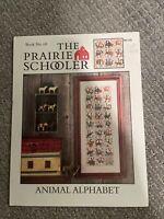 Prairie Schooler ANIMAL ALPHABET Counted Cross Stitch Pattern Leaflet (1998)