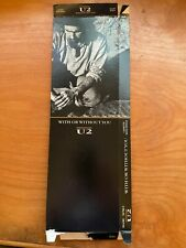 U2 - With Or Without You Cassette Longbox (Long Box)  - NO Cassette included