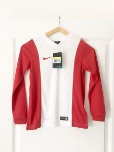Maillot de foot Nike manches longues Dri-Fit - 8/10 ans