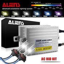 55W 9005/HB3 HID Headlight Kit AC CANBUS Error Free Ballasts Xenon Bulbs 6000K